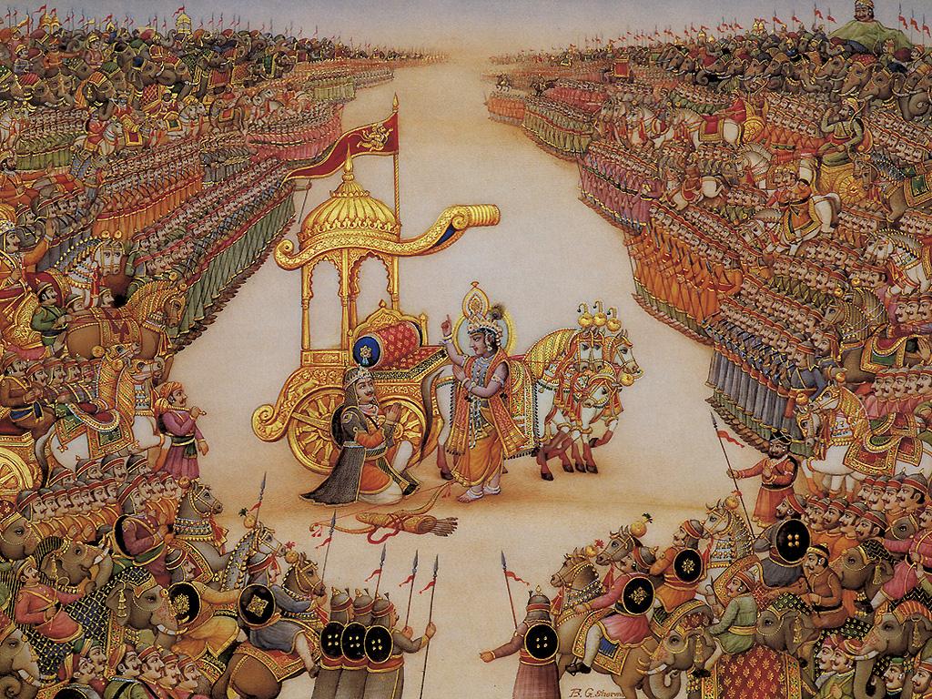 Krishna at Mahabharatha