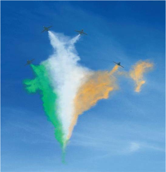 By Indian Air Force