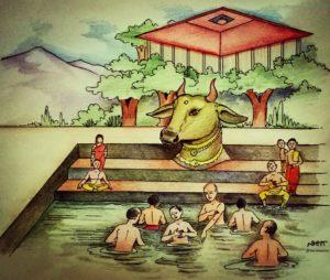 ಗೋಗಂಗಾ || ಪರಿಕಲ್ಪನೆ: ಶ್ರೀಶ್ರೀಗಳವರು. ಚಿತ್ರರೂಪ: ನೀರ್ನಳ್ಳಿ ಗಣಪತಿ